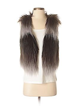 Tart Collections Faux Fur Vest Size S
