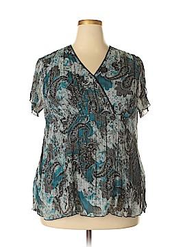 Catherine Malandrino Short Sleeve Blouse Size 18 - 20 (Plus)