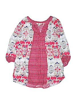 Krazy Kat Long Sleeve Blouse Size 2X (Plus)