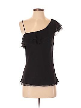 Allen B. by Allen Schwartz Short Sleeve Silk Top Size S