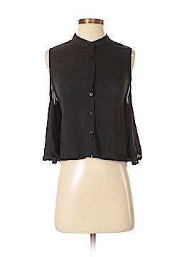 Signature Long Sleeve Blouse Size S