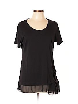 LOGO Short Sleeve Top Size L