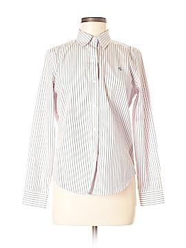 Lauren by Ralph Lauren Long Sleeve Button-Down Shirt Size M (Petite)