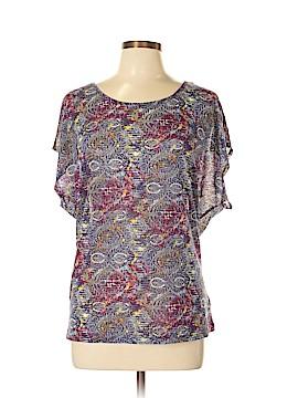 Soybu Short Sleeve Blouse Size L