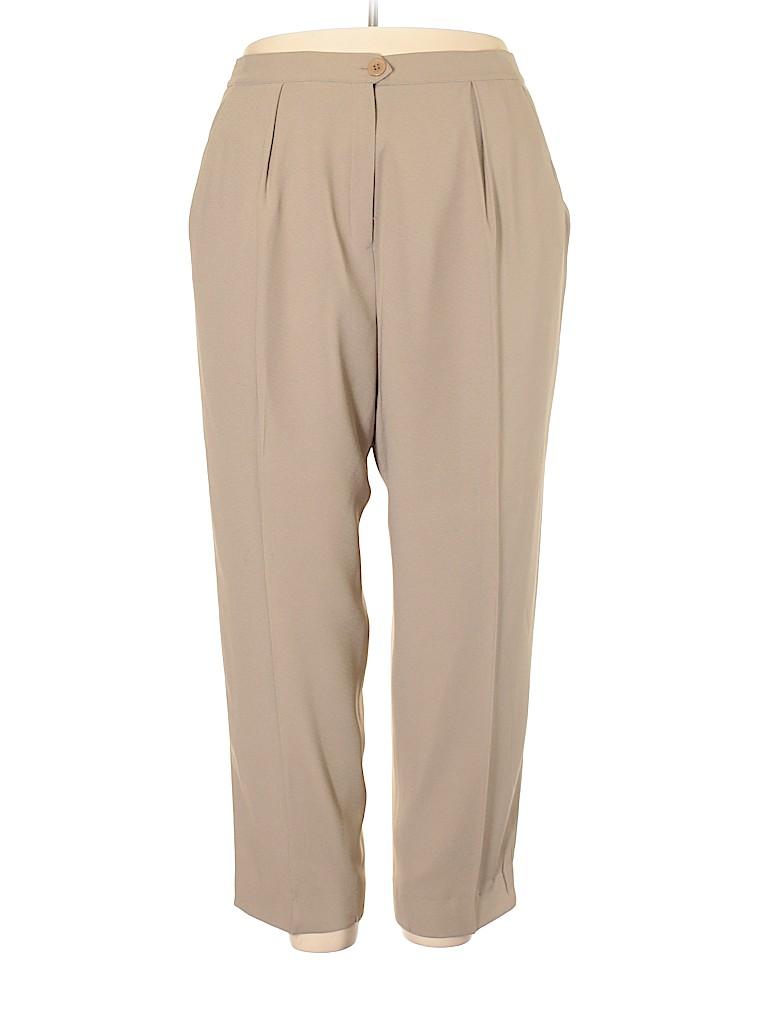 Jones New York Women Dress Pants Size 20W (Plus)