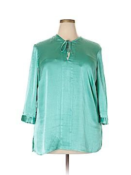 Alex Marie Long Sleeve Blouse Size 1X (Plus)