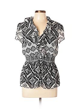Spense Short Sleeve Blouse Size L