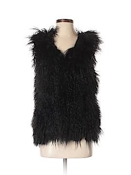 Blaque Label Faux Fur Vest Size Sm - Med