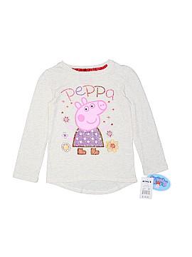 Peppa Pig Long Sleeve T-Shirt Size 4T