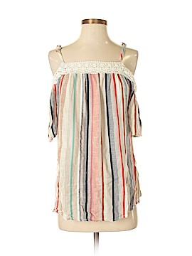 Style&Co Short Sleeve Blouse Size S