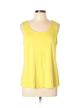 Joan Vass Sleeveless T-Shirt Size L