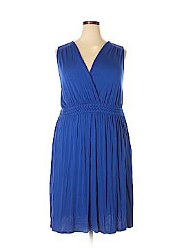 Cable & Gauge Casual Dress Size 2X (Plus)