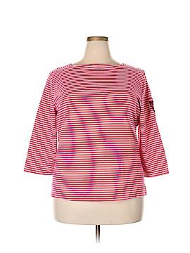 Bay Studio 3/4 Sleeve T-Shirt Size 2X (Plus)