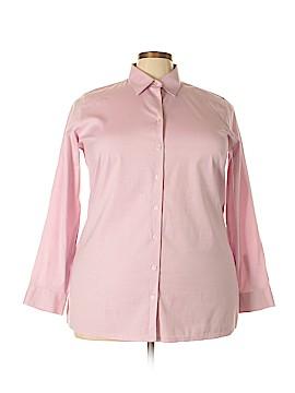 Eddie Bauer Long Sleeve Button-Down Shirt Size 2X (Plus)