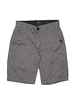 Quiksilver Khaki Shorts Size 10 (Slim)