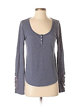 Eloise Long Sleeve Henley Size S
