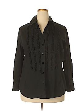 Wearever Long Sleeve Blouse Size 2X (Plus)