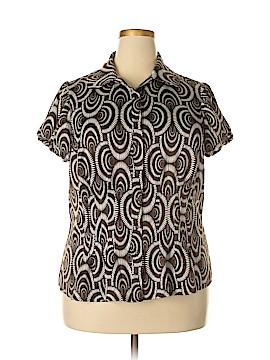 Sunny Leigh 3/4 Sleeve Blouse Size 1X (Plus)