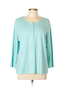 Susan Bristol 3/4 Sleeve Top Size XL