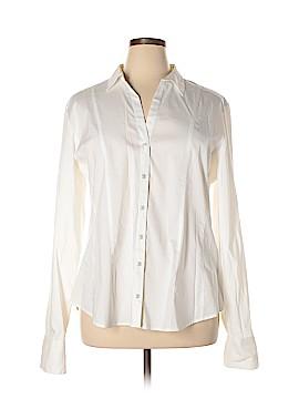 New York & Company Long Sleeve Button-Down Shirt Size XXL