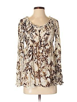 Sunny Leigh Long Sleeve Blouse Size S