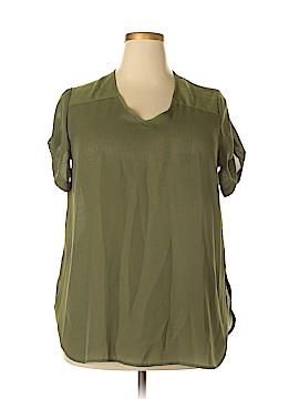 Roaman's Short Sleeve Blouse Size 16
