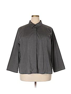 Croft & Barrow Long Sleeve Button-Down Shirt Size 3X (Plus)