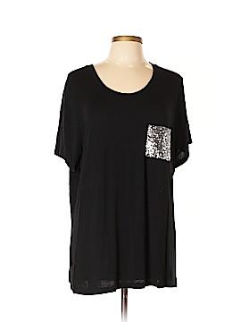 Ellen Tracy Short Sleeve T-Shirt Size 2X (Plus)