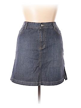 Nautica Denim Skirt Size 14