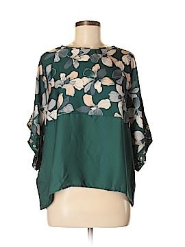 MNG Basics Short Sleeve Blouse Size S
