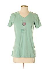Life Is Good Women Short Sleeve T-Shirt Size S