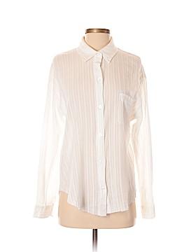 Socialite Long Sleeve Button-Down Shirt Size S