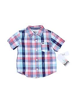 Kids Headquarters Short Sleeve Button-Down Shirt Size 24 mo