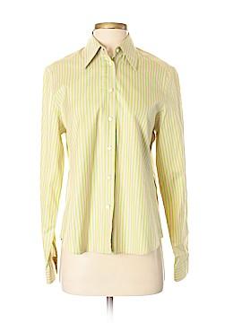 Paul Stuart Long Sleeve Button-Down Shirt Size S
