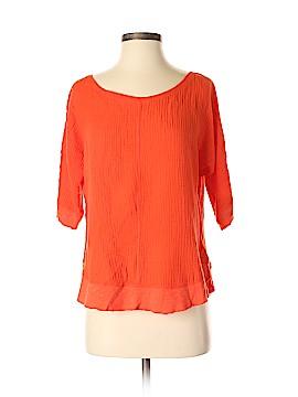 Anthropologie Short Sleeve Blouse Size XS