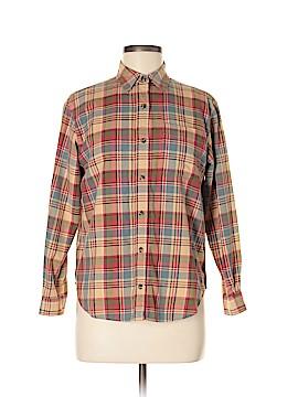Jones New York Sport Long Sleeve Button-Down Shirt Size S (Petite)