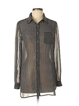 Moda International Long Sleeve Blouse Size M