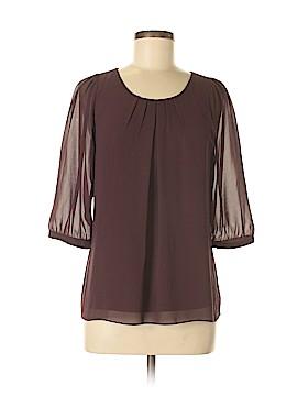 Ann Taylor Factory 3/4 Sleeve Blouse Size 4