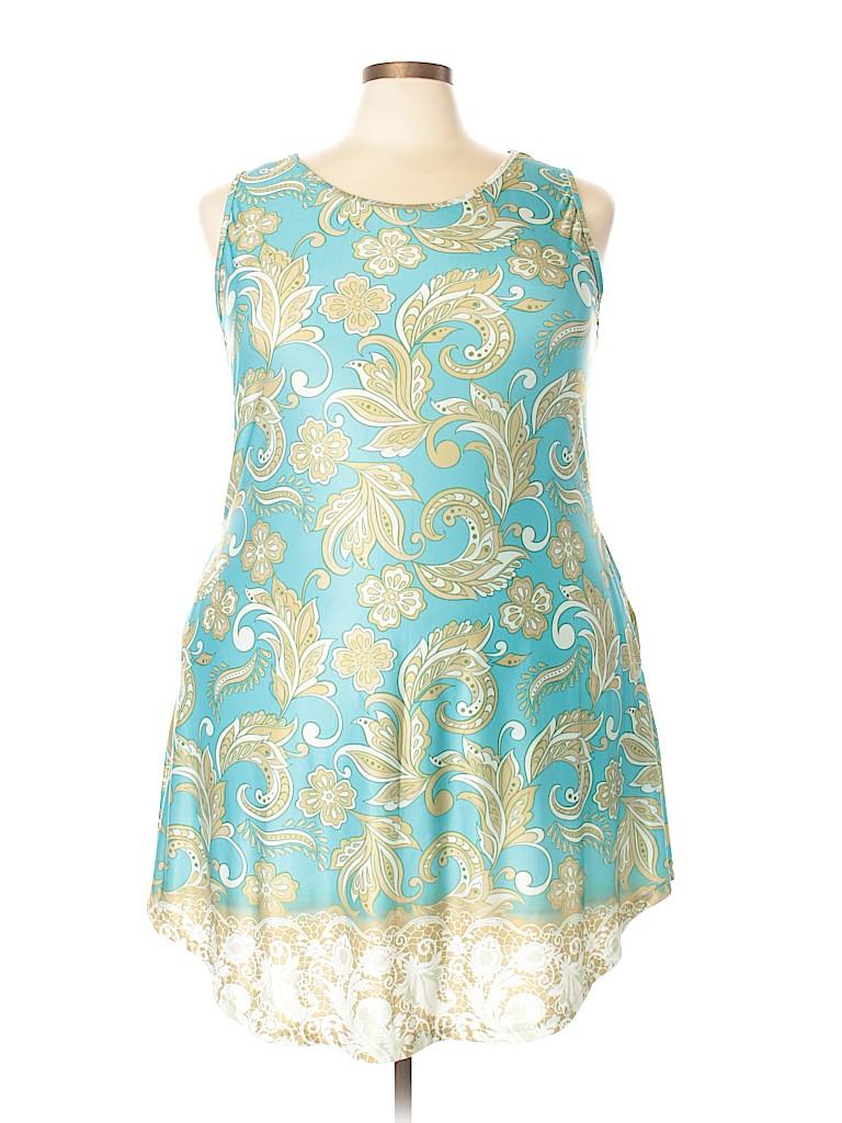 63d251a6c6c0c Plus Size Sunflower Print Dress
