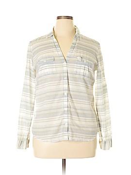 Columbia Long Sleeve Button-Down Shirt Size L