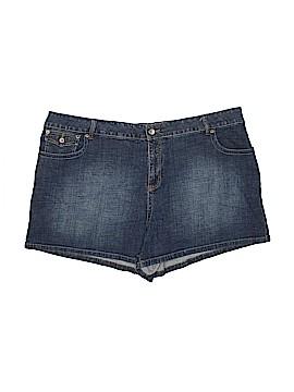 L.A. Blues Denim Shorts Size 26 (Plus)