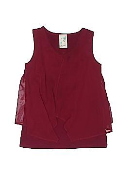 Lily Bleu Sleeveless Blouse Size 7