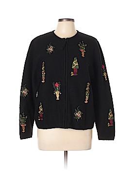 Susan Bristol Wool Cardigan Size L