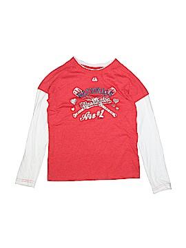Majestic Long Sleeve T-Shirt Size 10 - 12