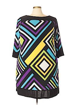 Emma & Michele Casual Dress Size 2X (Plus)