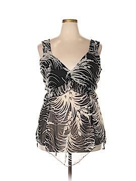 Julie's Closet Sleeveless Blouse Size 3X (Plus)