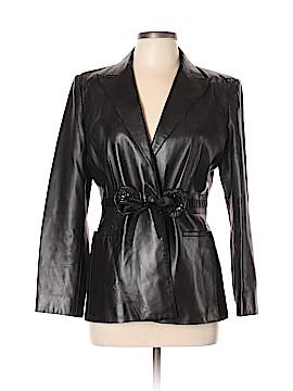 Valentino Leather Jacket Size 12