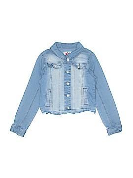 Justice Denim Jacket Size 8 - 10