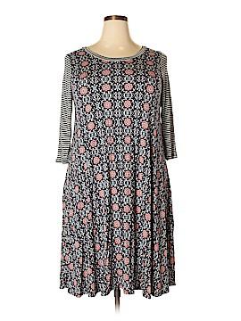 Chris & Carol Casual Dress Size 1X (Plus)
