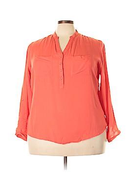 Tramp Long Sleeve Blouse Size 2X (Plus)